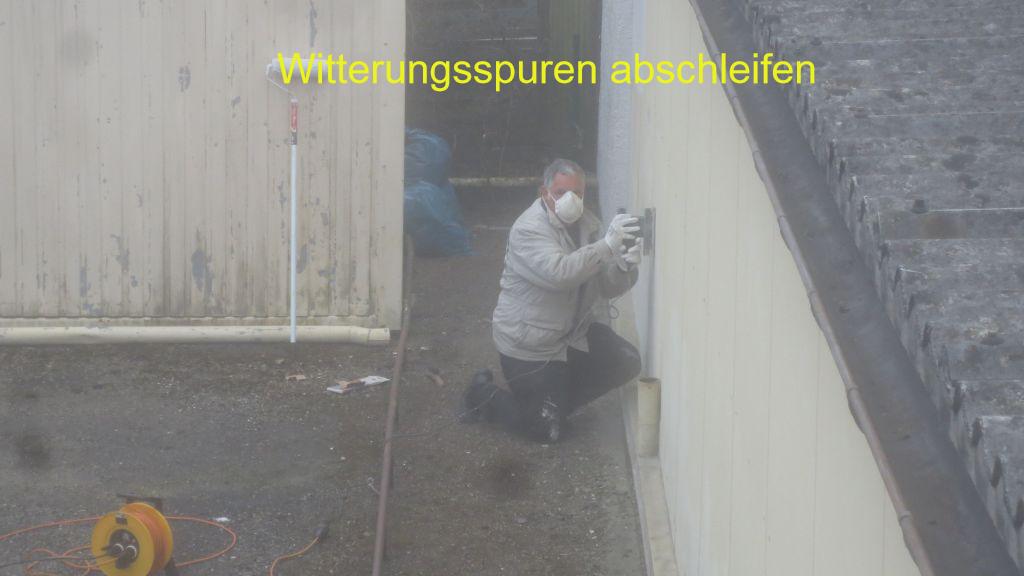 Ftsv Kuchen E V Projekt Fassadenrenovierung Anstreicharbeiten
